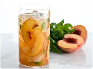 Peach+iced+tea