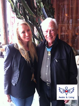 Walter Ehlers war hero with Juls Bindi