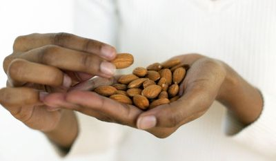 Eating-almonds
