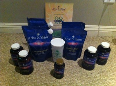 Arise and shine cleanse products